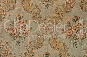 antique floral pattern wallpaper background