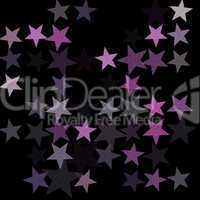 stars on the night sky