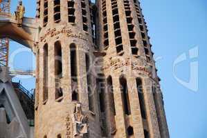 Kirchturm Sagrada Familia