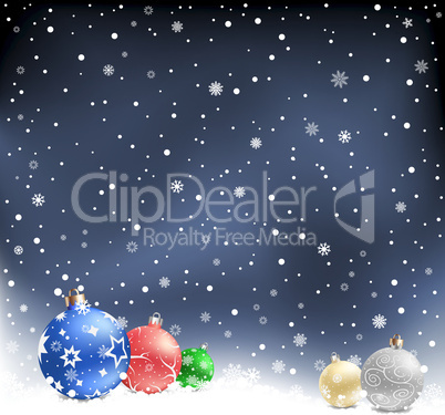 christmas-balls--night-background