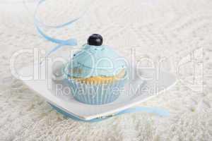 cupcake mit blaubeere