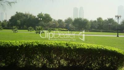 Landscaped Formal Garden. Park