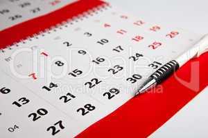 calendar of the year