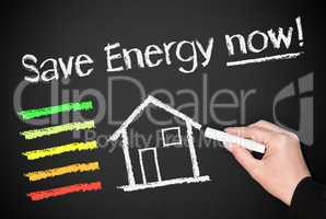 save energy now !