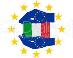 europäische hilfe für italien