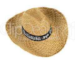 Straw hat that says Mallorca