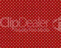 Roter Hintergrund mit weißen Punkten
