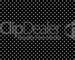 Schwarzer Hintergrund mit weißen Punkten