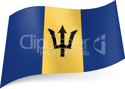 State flag of Barbados.