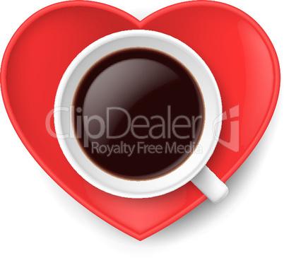 Love of coffee.