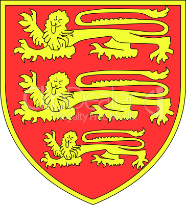 british three lions shield