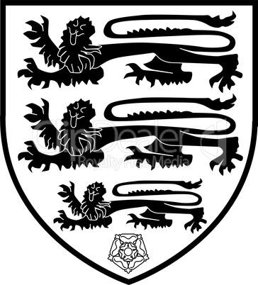 british three lions crest