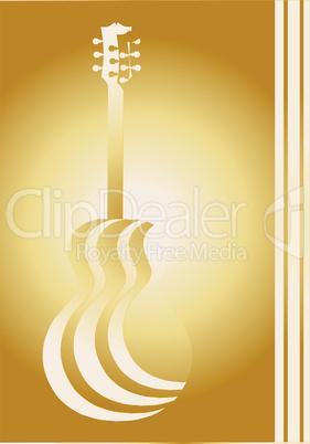 acoustic paper cutout