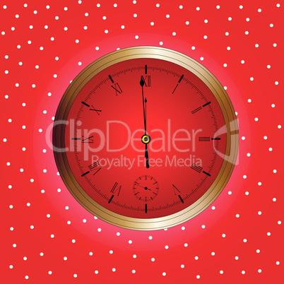 xmas clock