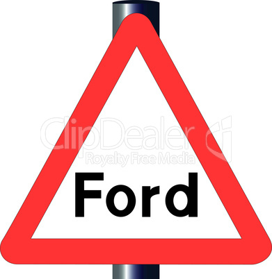 ford traffic sign