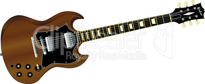 solid guitar