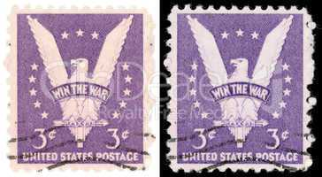 3 cent us postage stamp win the war from 1942