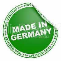 3d aufkleber grün - 100% qualität made in germany
