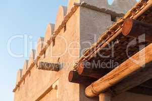 Traditional Arab architecture, Abu Dhabi, UAE