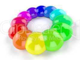 3D Symbol - Im Kreis der Farben 3