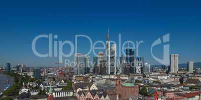 frankfurt am main, germany - panorama