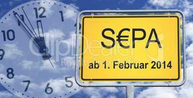 sepa - ab 1. februar 2014