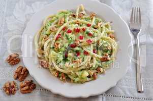 Zucchini Walnuss Pasta