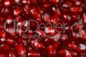 pomegranate seed background