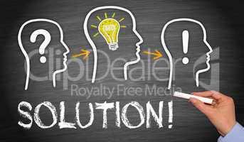 solution - business concept