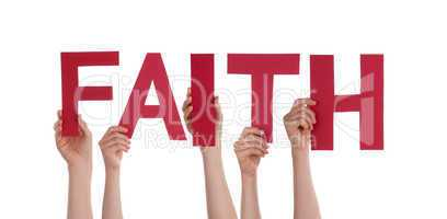 people holding faith