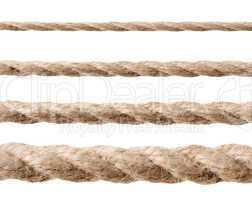 Row of ropes