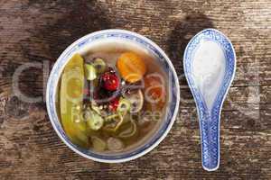 chinesische süß-saure Suppe