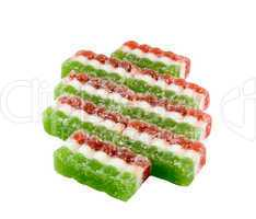 east sweets three-coloured sweets from fruit candy