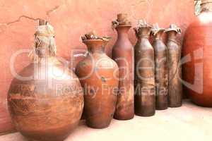 African Clay Pots