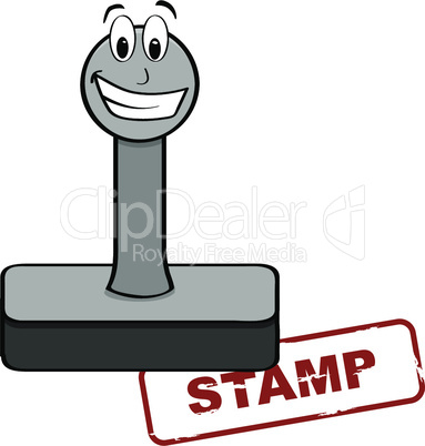 Cartoon stamp