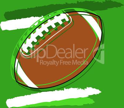 Stylized football