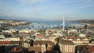 Geneva timelapse in winte