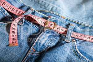 jeans and centimeter