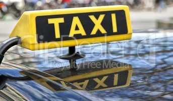 schild taxi
