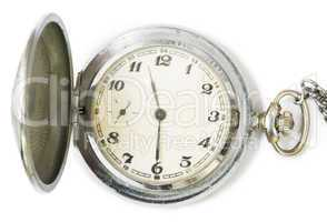 mechanical clock with cover