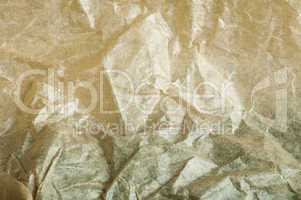 beige crumpled paper background