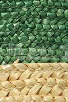 woven straw background