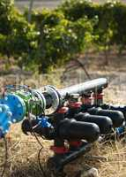 water pumps for irrigation of vineyards