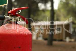 fire extinguisher and mobile homes
