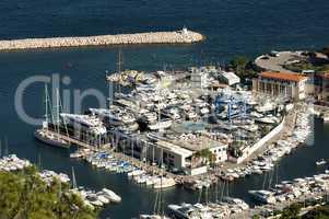 bay of monaco and monte carlo