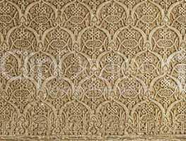 islamic ornaments on a wall