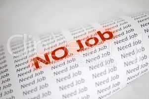 no job conception
