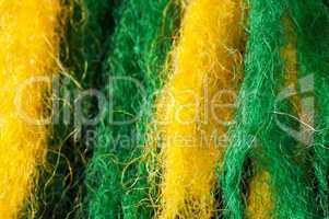 Wool fibers