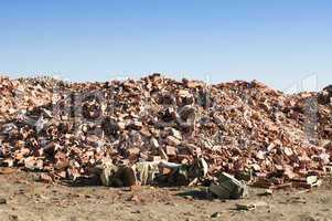 Landfill for disposal of construction waste