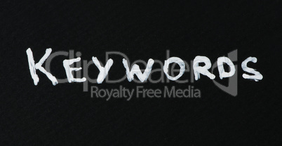 Keywords text conception